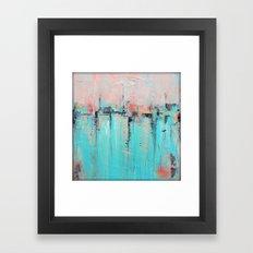 New Theory - Mixed Media Art Framed Art Print