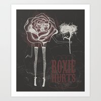 roxie hurts Art Print