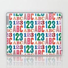 ABC 123 Laptop & iPad Skin