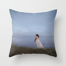 Sunset In The Dunes II Throw Pillow