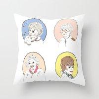 Blanche Throw Pillow