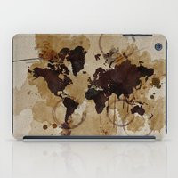 Map Stains iPad Case