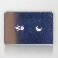 Moon Bunny Laptop & iPad Skin