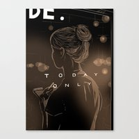 Today Only Canvas Print