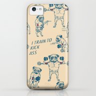 Pug Workout iPhone 5c Slim Case