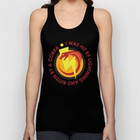 I Was Hit By Lightning A… Unisex Tank Top
