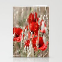 Poppies  - JUSTART © Stationery Cards