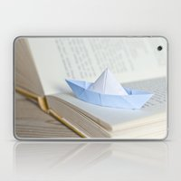Little Paper Boat Laptop & iPad Skin