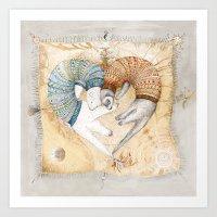 Love Sleep II Art Print
