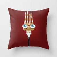 Victorian Granma Throw Pillow