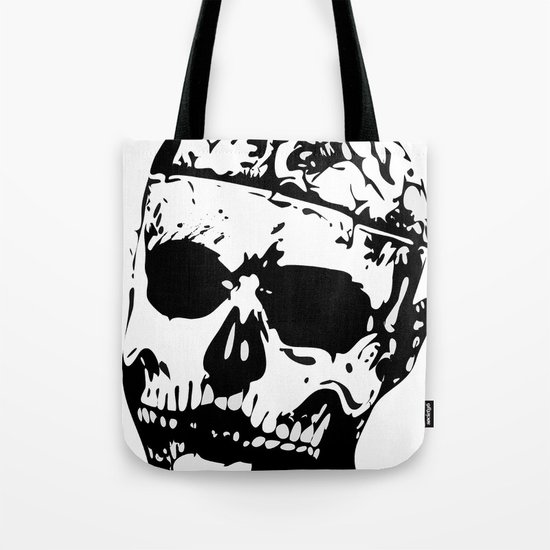 Rick Genest (Zombie Boy) Tote Bag