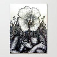 Plantform Canvas Print