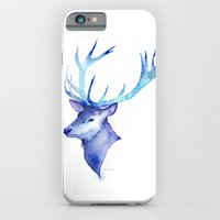Blue Antlers iPhone 6 Slim Case