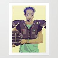 80/90s - Brie... Art Print