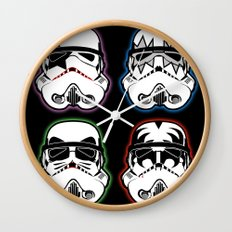 Kiss Troopers Wall Clock