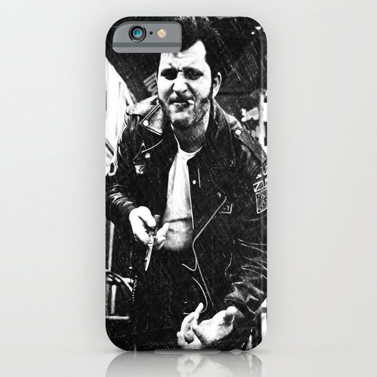 Greaser Johnny iPhone & iPod Case