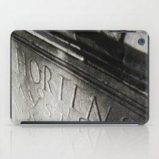 wisdom in stone. iPad Case