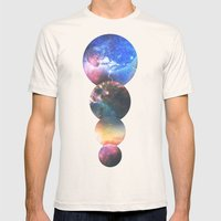 Echoes Mens Fitted Tee Natural SMALL