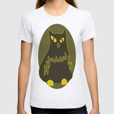 Owlie Womens Fitted Tee Ash Grey SMALL