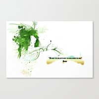 Canvas Print featuring Women with design by edprodesign