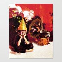 Silent Treatment Canvas Print