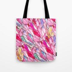 Crystal pattern Tote Bag