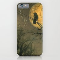iPhone & iPod Case featuring Autumn Moon by The Strange Days Of Gothicolors