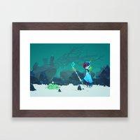 Observant Framed Art Print