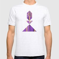 BISHOP Mens Fitted Tee Ash Grey SMALL