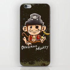 Dangerous Monkey! iPhone & iPod Skin