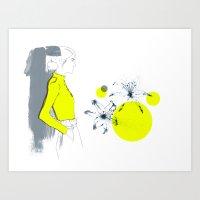 Lily*** Art Print