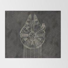 Millennium Falcon Throw Blanket