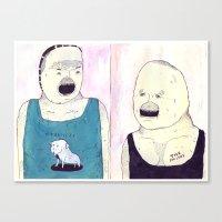 MY DOG MORRISSEY Canvas Print