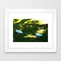 Hanging Together Framed Art Print