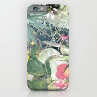 iPhone Cases featuring CACTI by Beth Hoeckel Collage & Design