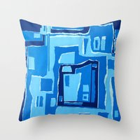 SPLASH!!! Throw Pillow