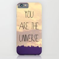 iPhone & iPod Case featuring You Are The Universe  by Rachel Burbee