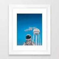 Pluto Framed Art Print
