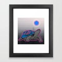 California Pleasure Turtle Framed Art Print