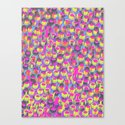 Pop Circles Canvas Print