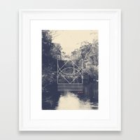 Quietude Framed Art Print