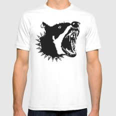 Gypsys Dog White SMALL Mens Fitted Tee