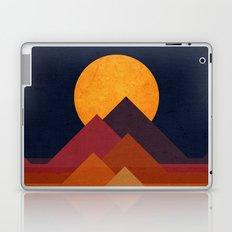 Full moon and pyramid Laptop & iPad Skin