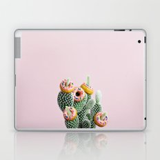 Donut Cactus In Bloom Laptop & iPad Skin