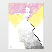'Strawberry Lemonade' Fa… Canvas Print