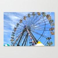 Fun Wheel Canvas Print
