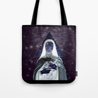 ♀ Holly Space Mother �… Tote Bag