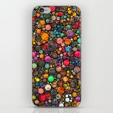 colorful dots iPhone & iPod Skin
