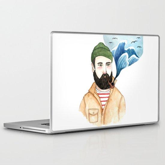 The Sailor and the Sea Laptop & iPad Skin