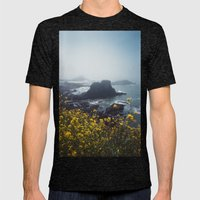 Yaquina Head Mens Fitted Tee Tri-Black SMALL